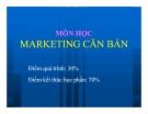 Bài giảng Giới thiệu Marketing căn bản