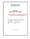 Báo cáo thực tập tốt nghiệp: Kế toán tiền lương và các khoản trích theo lương tại Tổng Công ty Tư vấn Thiết kế dầu khí