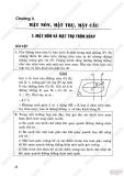 Giải bài tập Hình học 12 cơ bản - Chương 2 - Mặt nón, Mặt trụ, Mặt cầu