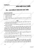 Giải bài tập Vật lý 12 cơ bản - Chương 3: Dòng điện xoay chiều