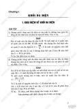 Giải bài tập Hình học 12 cơ bản - Chương 1 -  Khối đa diện