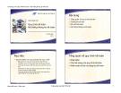 Bài giảng Nguyên lý kế toán (GV. Vũ Hữu Đức) - Chương 5+6: Quy trình kế toán - Hệ thống thông tin kế toán