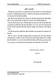 Báo cáo tốt nghiệp: Kế toán tiền lương và các khoản trích theo lương tại công ty cổ phần giấy Lam Sơn Thanh Hóa