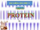 Bài giảng Hóa học 9 bài 53: Protein