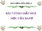 Bài giảng Tính chất hóa học của bazơ - Hóa 9 - GV.N Phương