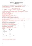 Chuyên đề 3 Hiđrocacbon không no