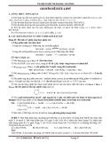 Tài liệu luyện thi đại học, cao đẳng - Chuyên đề este & lipit