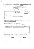 Đề thi  giải toán trên máy tính cầm tay môn Toán lớp 12