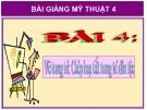 Slide bài Vẽ trang trí: Hoạ tiết trang trí dân tộc - Mỹ thuật 4 - GV.Hồng Bảo Nam