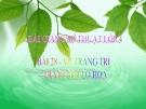 Slide bài Vẽ trang trí: Trang trí lọ hoa - Mỹ thuật 4 - GV.Hồng Bảo Nam