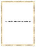 Liên tịch số 1716/LT-SGD&ĐT-BHXH 2013