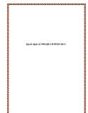 Quyết định số 958/QĐ-LĐTBXH 2013