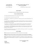 Quyết định 04/2013/QĐ-UBND 2013