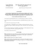 Quyết định 08/2013/QĐ-UBND tiêu chuẩn, điều kiện bổ nhiệm chức danh Trưởng phòng, Phó Trưởng phòng và tương đương thuộc Sở, Ban, ngành, Uỷ ban nhân dân huyện, thành phố của tỉnh Quảng Nam