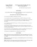 Quyết định 693/QĐ-UBND năm 2013