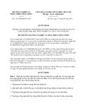 Quyết định 1115/QĐ-BNN-TCCB năm 2013