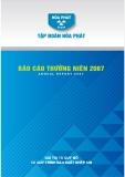 Báo cáo thường niên năm 2007 (Tập đoàn Hòa Phát) - Giá trị từ quy mô và quy trình sản xuất khép kín