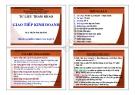 Bài giảng Giao tiếp kinh doanh - ThS. Trần Phi Hoàng