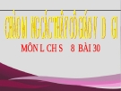 Bài giảng Phong trào yêu nước chống Pháp từ đầu TK 20 - Lịch sử 8 - GV.T.P.Thùy