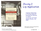 Computer Networking: A Top Down Approach Featuring the Internet - Chương 2