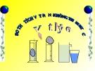 Bài giảng Vật lý 6 bài 4: Đo thể tích vật rắn không thấm nước