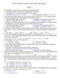 150 Câu hỏi trắc nghiệm ôn thi Đại học môn Vật lý (có đáp án)