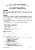 Tài liệu hướng dẫn phần kinh tế đồ án tốt nghiệp chuyên ngành kỹ thuật