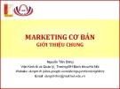 Bài giảng Marketing cơ bản (Nguyễn Tiến Dũng) - Giới thiệu chung