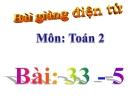 Bài giảng 33-5 - Toán 2 - GV.Lê Văn Hải