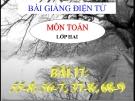 Bài giảng 55-8, 56-7, 37-8, 68-9 - Toán 2 - GV.Lê Văn Hải