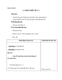 Giáo án Toán 2 chương 3 bài 3: 11 trừ đi 1 số 11-5
