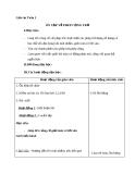 Giáo án Toán 2 chương 4 bài 1:  Ôn tập về phép cộng và phép trừ