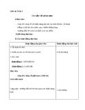 Giáo án Toán 2 chương 4 bài 2: Ôn tập về hình học