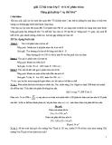 Giải 12 bài toán lớp 5 về tỉ số phần trăm bằng phương pháp cụ thể hóa