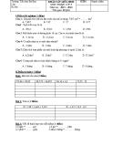 2 Đề kiểm tra giữa HK II môn Toán lớp 5 năm 2013-2014