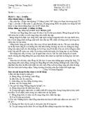 10 Đề kiểm tra giữa HK2 môn Tiếng Việt lớp 5 năm 2011-2012