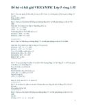Đề thi Violympic Toán lớp 5 vòng 1 đến vòng 35
