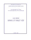Giáo trình Sinh lý thực vật - GS.TS. Hoàng Minh Tấn