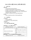 Giáo án bài  Dòng điện trong chất điện phân - Vật lý 11 - GV:L.N.Ngọc