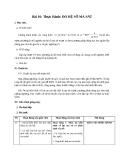 Giáo án bài Thực hành: Xác định hệ số ma sát - Vật lý 10 - GV:L.N.Ngọc