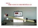 Slide bài Thực hành: Xác định hệ số ma sát - Vật lý 10 - L.N.Ngọc