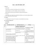 Giáo án Vật lý 10 bài 1: Chuyển động cơ
