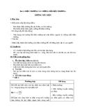 Giáo án bài Điện trường và cường độ điện trường - Vật lý 11 - GV:L.N.Ngọc