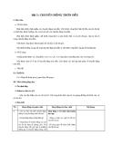 Giáo án bài Chuyển động tròn đều - Vật lý 10 - GV:L.N.Ngọc