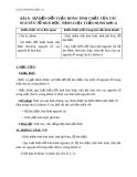 Giáo án Hóa học 10 bài 9: Sự biến đổi tuần hoàn tính chất của các nguyên tố hóa học. Định luật tuần hoàn