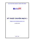 Kỹ thuật chuyển mạch 1 - Ths. Hoàng Trọng Minh