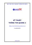 Kỹ thuật thông tin quang 2 - Đỗ Văn Việt Em