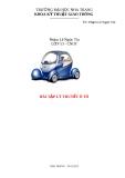 Đề tài lý thuyết ô tô: Tính toán động lực học ô tô