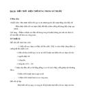 Giáo án bài Biến trở-Điện trở dùng trong kỉ thuật - Vật lý 9 - GV:N.T.Tuyên