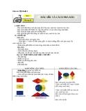 Bài 1: Màu sắc và cách pha màu - Giáo án Mỹ thuật 4 - GV.Phạm Hồng Thái